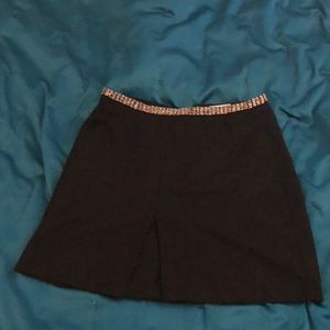 H&M beaded waist band skirt